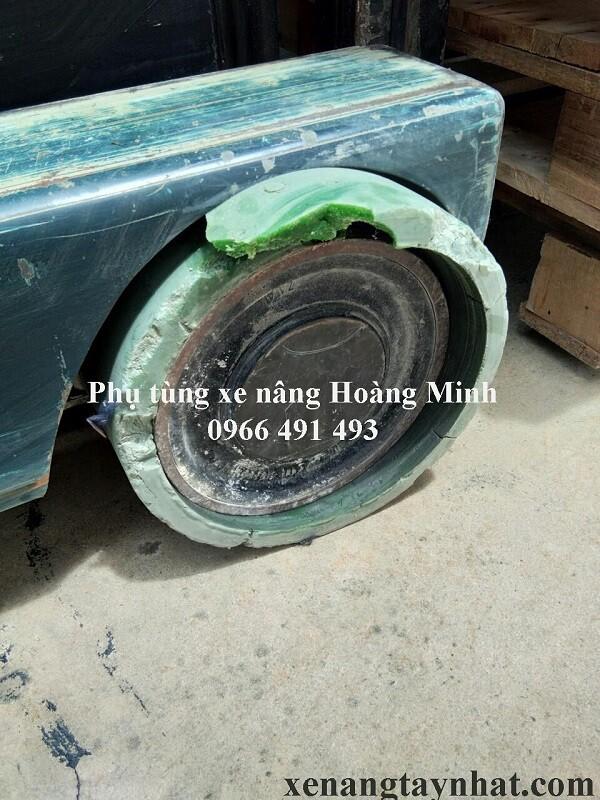 bánh xe nâng điện toyota 7FBR15