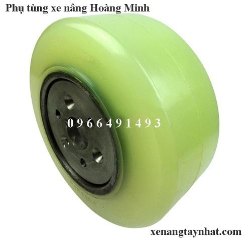 Bánh xe PU 380x145- bánh xe nâng điện Toyota 7fbr20, 7fbr25, 7fbr30