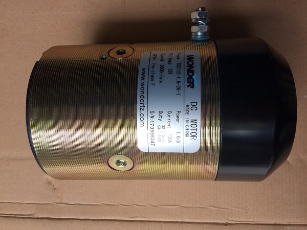Motor bơm thủy lực DC12V dùng cho xe nâng điện