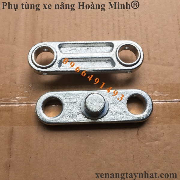 Phụ tùng xe nâng tay Hoàng Minh- Má lắp bánh xe