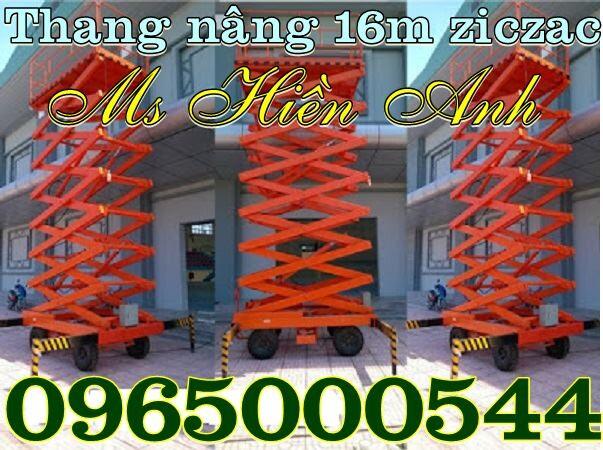 Thang nâng người 16 m giá rẻ tại Hà Nội