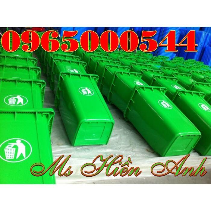 thùng rác 240 lít nhập khẩu giá rẻ
