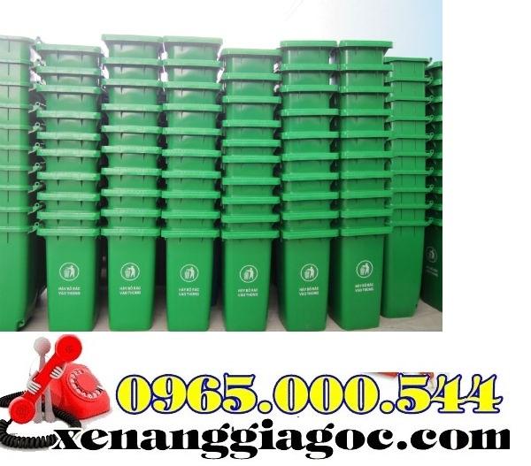 Thùng rác nhựa 100 lít giá rẻ