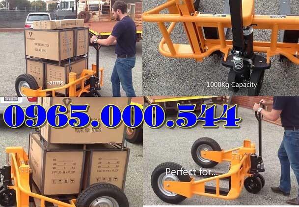 xe nâng tay địa hình 1 tấn 1.5 tấn