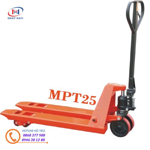 Hình ảnh xe nâng tay siêu nhỏ MPT25S Hiệu Medtek-Đài Loan