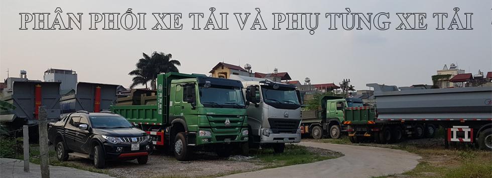 Bán xe tải và phụ tùng xe tải: Xe ben, xe thùng, xe đầu kéo, xe trộn bê tông, sơ mi rơ mooc...