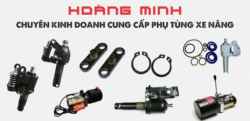 Cung cấp phụ tùng xe nâng tay, bánh xe nâng tay, bánh xe PU giá rẻ tại HCM, Bình Dương, Đồng Nai
