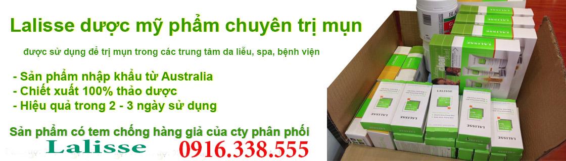 Các sản phẩm có trong bộ SP như sau: + Lalisse Anti Spot Skin Serum No.1(Serum trị mụn số 1): 05ml + Lalisse Oil Control Cleanser (Sửa rữa mặt): 30gr + Lalisse Exfoliating Peel Off Masque (Mặt nạ): 30