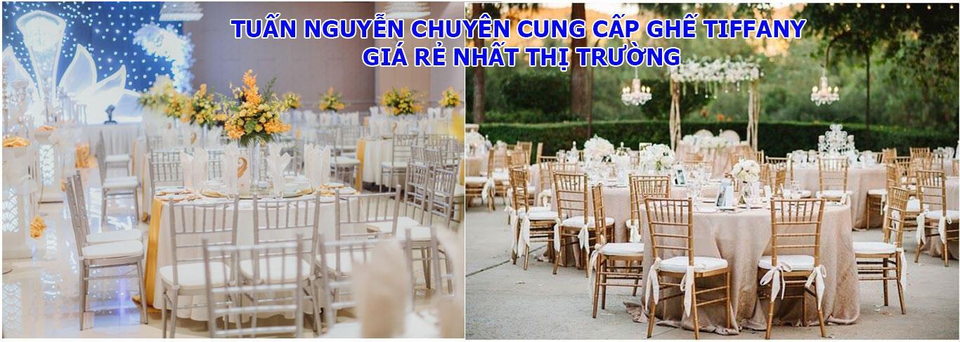 Tuấn Nguyễn Cung cấp ghế tiệc cưới Tiffany giá rẻ. Hotline: 0902.990.539 (Mr.Tuấn)