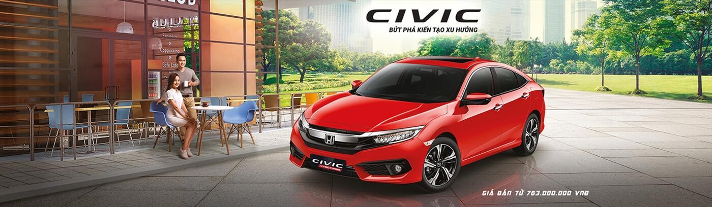 Honda Civic  Honda Long Biên} Hỗ trợ trả góp Honda Civic