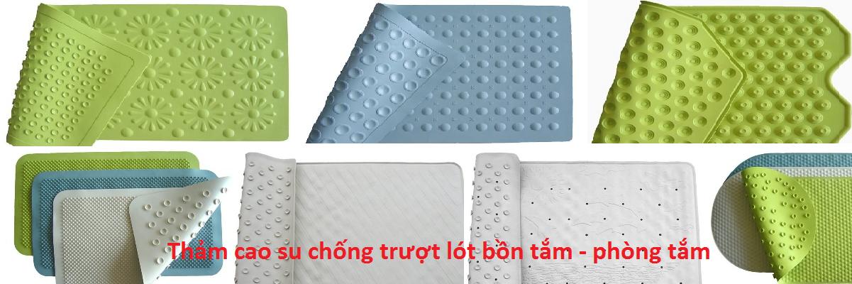 thảm cao su chống trượt cao cấp chuyên lót bồn tắm, sàn phòng tắm