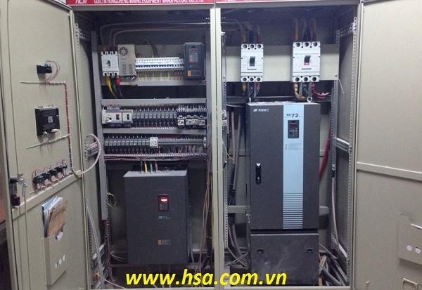 lap dat tu điện giá rẻ dùng biến tần, tủ biến tần giá rẻ, tủ biến tần điều khiển động cơ giá rẻ, thi công tủ điện biến tần giá cạnh tranh