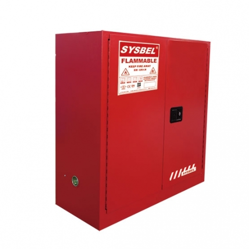 Tủ chứa dung môi gây cháy 30 Gallon – 114 lít, cửa tự đóng,hãng sysbel Model: WA810301R