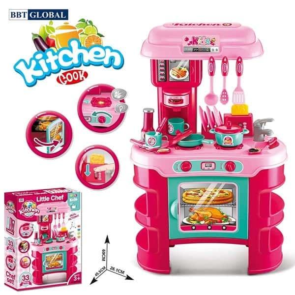 Đồ chơi mô hình BBT GLOBAL - Bộ đồ chơi nấu ăn Kitchen Cook - 008-908