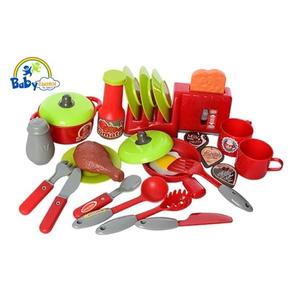 Đồ chơi mô hình BBT GLOBAL - Bộ đồ chơi nấu ăn Kitchen Cook - 008-908A