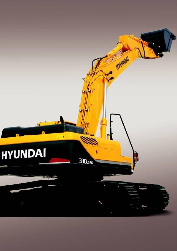 Máy đào bánh xich Hyundai R330LC-9SH