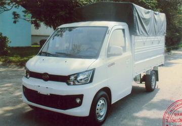Veam VPT095 thùng mui bạt, tải 990 Kg Euro 4