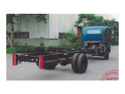 Thông số kỹ thuật xe cabin satxi Veam VT260-1, thùng dài 6,2 mét, máy isuzu 109 ps Euro 4