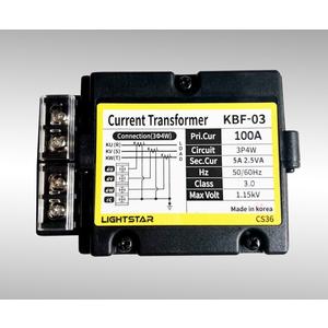 Biến dòng đo lường KBF-03 (Tỷ số biến dòng: 50/5A; 60/5A; 75/5A; 100/5A)