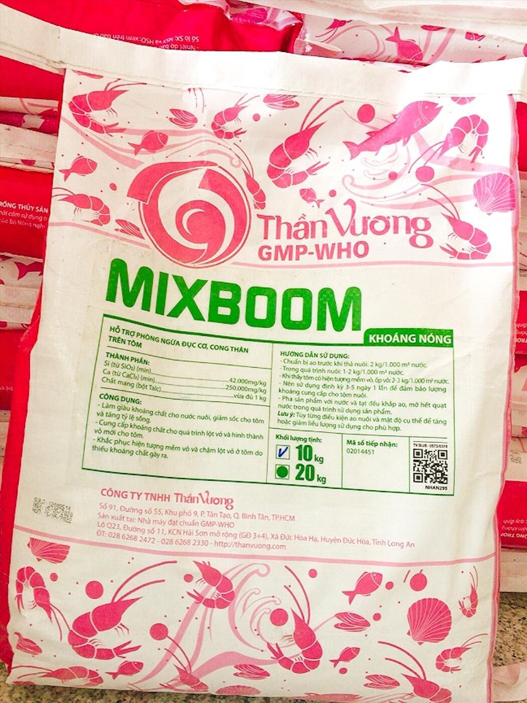 MIXBOOM Khoáng Nóng