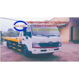 Xe cứu hộ giao thông sàn trượt HINO XZU 720L chở xe