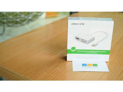 Cable Mini DisplayPort to VGA and HDMI