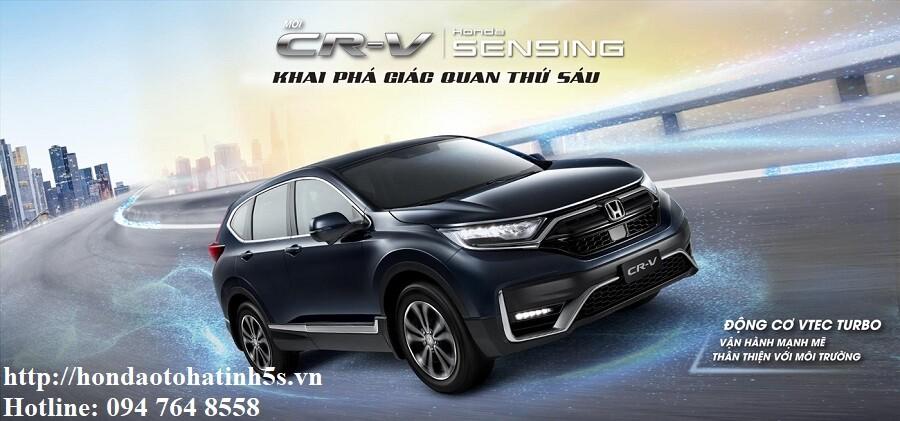 Honda CRV mới - Honda Ôtô Hà Tĩnh 5S - Hình 1