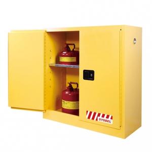 Tủ đựng hóa chất chống cháy 30 Gallon – 114 lít, cửa tự đóng,hãng sysbel Model: WA810301