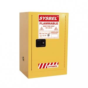 Tủ đựng hóa chất chống cháy 12 Gallon – 45 lít, cửa tự đóng,hãng sysbel.Model:WA810120