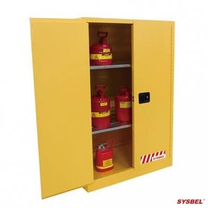 Tủ đựng hóa chất chống cháy 90 Gal – 340 lít, cửa tự đóng,hãng sysbel Model: WA810861