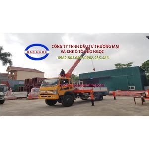 Xe tải dongfeng Trường Giang 8,8 tấn 2 cầu gắn cẩu 5 tấn 6 đốt kanglim