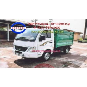 xe thu gom rác trong ngõ (hooklift) 4 khối TATA TMT SUPER