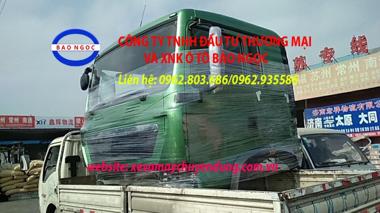 Cabin xe tải xe đầu kéo xe ben howo T5G