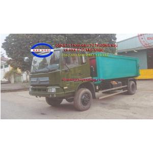Xe hooklift chở rác thùng rời 7 khối DONGFENG B160