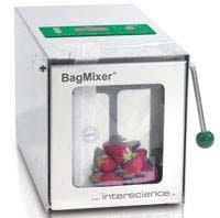 Máy dập mẫu thể tích 50 - 400ml cửa kính Model: BagMixer 400 CC