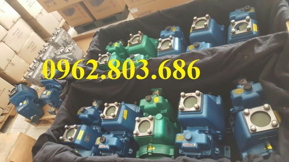 Bơm xăng dầu 60m3 lắp cho xe téc chở xăng dầu