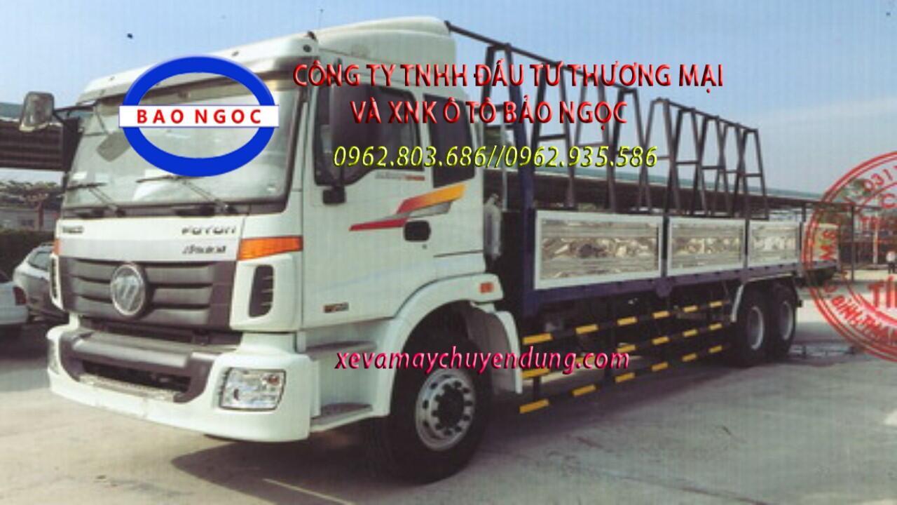 Xe chở kính 3 chân thaco auman C1400