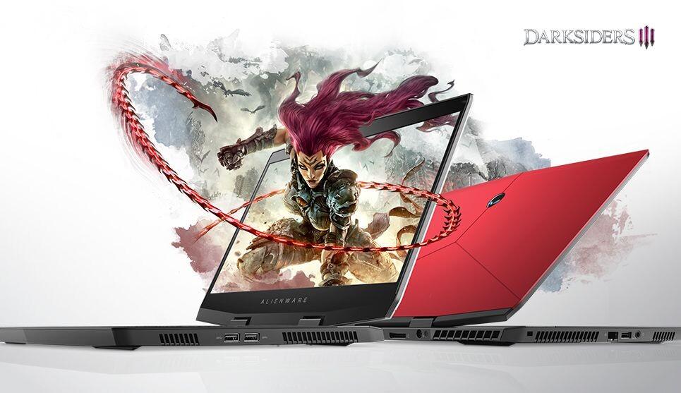 ALIENWARE M15 - I7 8750H GTX 1060 MaxQ RAM 8GB 1TB HDD 15.6