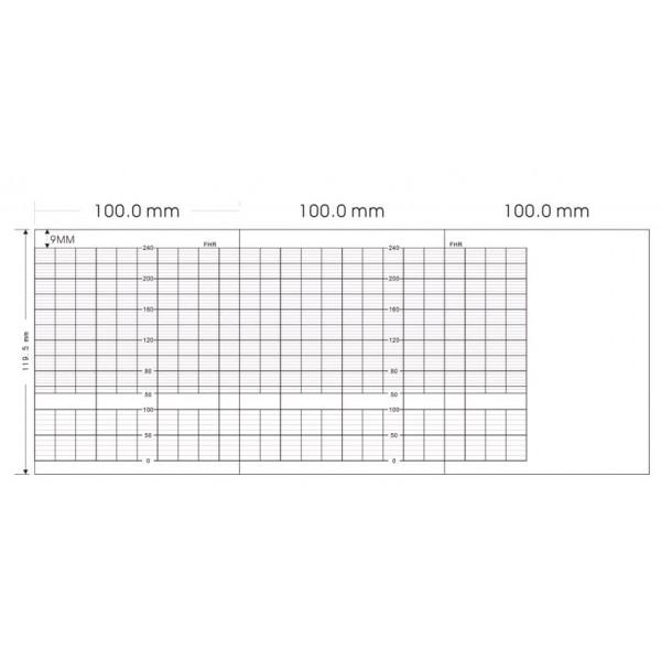Giấy monitor sản khoa Biosys/Bionics IFM 500 (100x120x250)