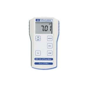 MÁY ĐO pH/NHIỆT ĐỘ CẦM TAY ĐIỆN TỬ HIỆN SỐ MW102