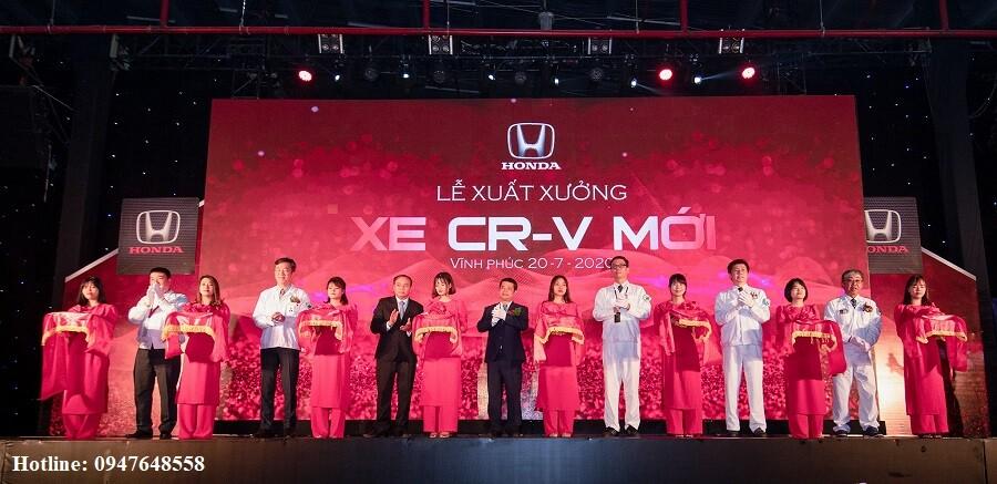 Honda Việt Nam tổ chức Lễ xuất xưởng Honda CR-V 2020 - Honda Ôtô Hà Tĩnh 5S - Hình 1