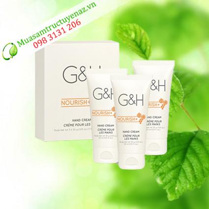 Kem dưỡng ẩm da tay G&H Nourish+ (3x30 g)