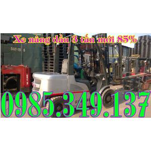 Xe nâng dầu cũ, Xe nâng dầu qua sử dụng NISSAN 3 Tấn cao 3 mét