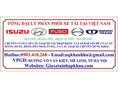 110SL thùng bạt Phú Linh 2020 Euro 4