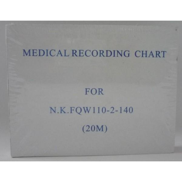 Giấy điện tim 6 cần Nihon Koden FQW110-2-140 (110x140x200)