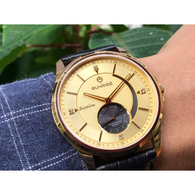 Đồng hồ nam sunrise 1120pa - mkv chính hãng