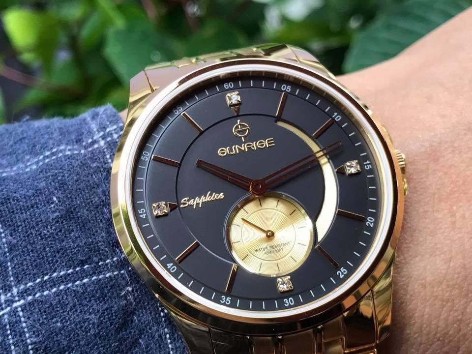 Đồng hồ nam sunrise 1120sa - mkd chính hãng