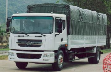 Veam VPT950 thùng bạt, tải 9,3 tấn, thùng dài 7,6 mét Euro 4