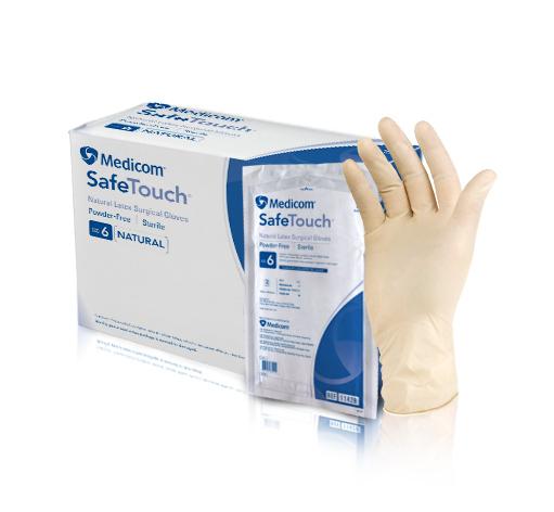 Găng tay phẫu thuật không bột SafeTouch Latex 1142