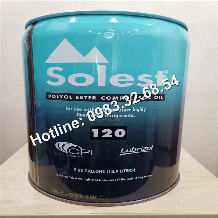 Dầu lạnh Solest 170